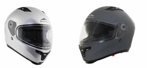 c10a141d Image is loading Vega-Stealth-F117-Full-Face-Motorcycle-Helmet