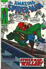 Spider-Man 90 Marvel 1970 Death of Captain Stacy High Grade