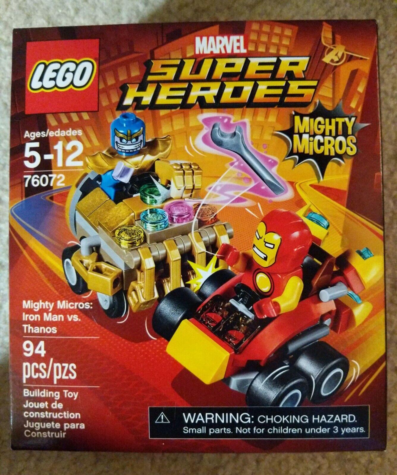 NEU /& OVP ! Scorpion Spider-Man vs 76071 Mighty Micros LEGO® Mighty Micros
