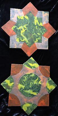 Kunst Rath Edeltraud 1952 Zwei Sterne 1996 Mischtechnik/papier/ Holz Oldenburg Bremen Antiquitäten & Kunst