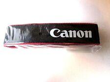 "Genuine Canon EOS  DSLR Camera Shoulder Neck Strap ~ 1.25"" Wide~NEW Ships F"