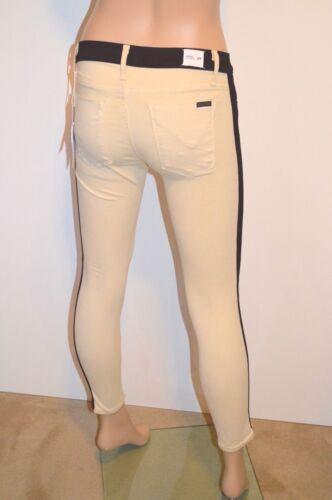 os avec Leeloo skinny super Hudson rayures 220 Crop Jean Sz noires Nouveau 801682553996 25 Jeans SaZqx4
