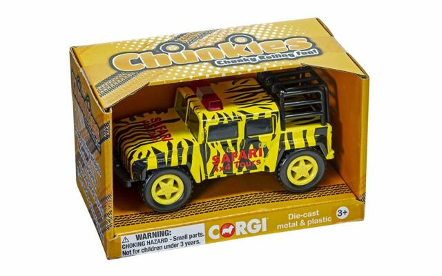 Corgi Chunkies - Off Road Safari Yellow and Black - Die Cast large toy vehicle