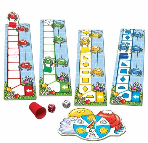 Counting and Shapes Game Orchard Toys Insey Winsey Spider