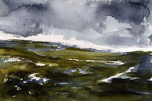 North-Yorkshire-Moors-POSTCARD-Steve-Greaves-Watercolour-Art-Card-Landscape