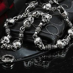 Guntwo-Korean-Mens-Fashion-Wallet-Chains-Biker-Metal-Skull-Jean-Chain-C1176-US