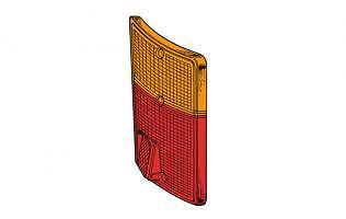 Plastica Fanale posteriore FIAT 126 e 127 Fiorino