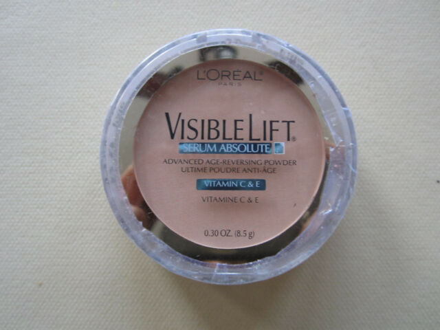 L'Oreal Visible Lift SERUM ABSOLUTE ADVANCE AGE REVESING Face Powder FAIR #170