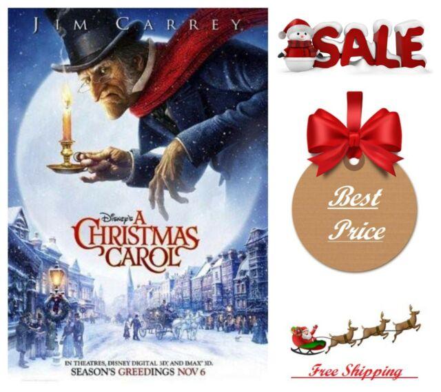 Disney's A Christmas Carol Xmas DVD Kids Comedy Family Film Jim Carrey   eBay