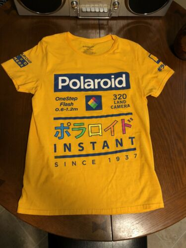 Polaroid Land Camera Shirt Size Small