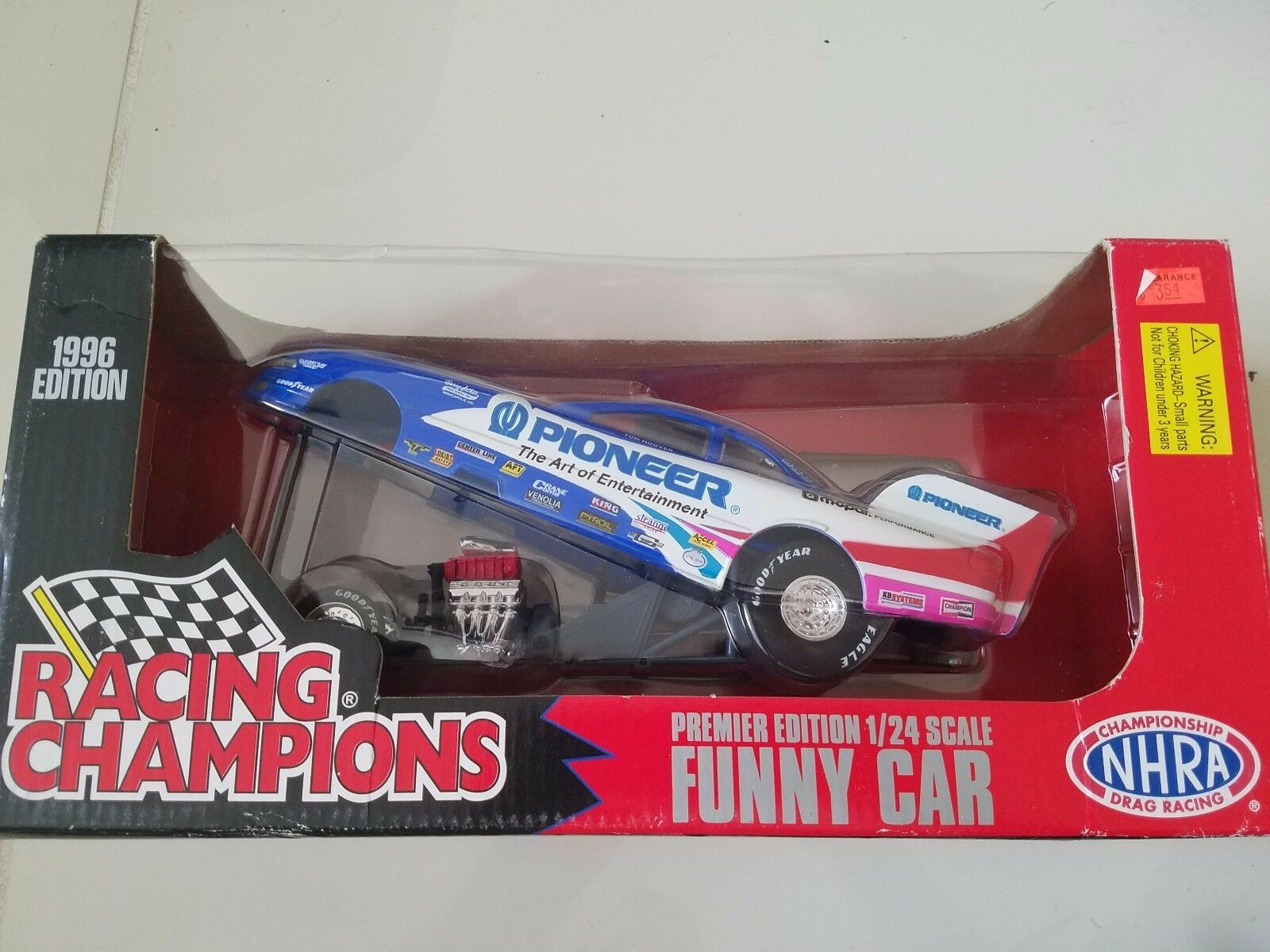 RACING CHAMPIONS PREMIER EDITION 1 24 SCALE FUNNY CAR 1996 DIECAST NEW IN BOX