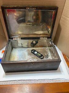 Vintage-Holz-Holz-Zigarre-Humidor-Box-Schmuckkaestchen