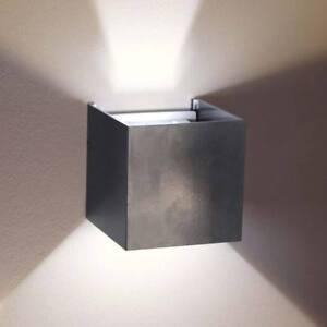 Wandlampe Anthrazit s.luce ixa led wandleuchte verstellbare winkel wandlampe anthrazit