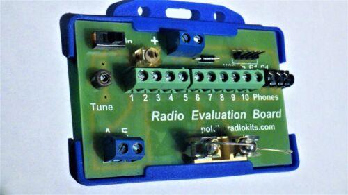 Crystal radio  evaluation board with Cat/'s Whisker,DIY no soldering Germanium