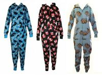 Ladies Character Onesie Pyjamas Lounge Sleep Wear Official Ghostbusters Garfield