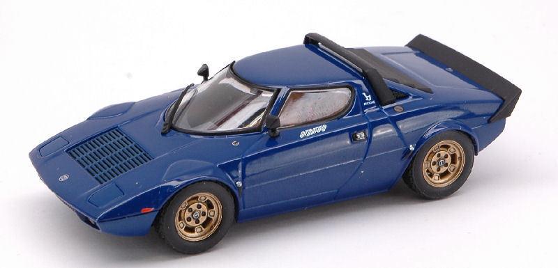 primera reputación de los clientes primero Lancia Stratos HF 1974 azul 1 43 43 43 Model 0979 hpi Racing  80% de descuento