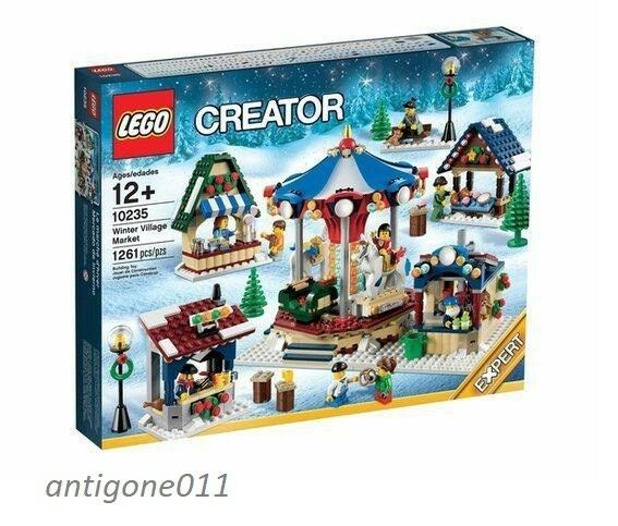 New LEGO Creator 10235 Winter Village Market 1261 Pieces