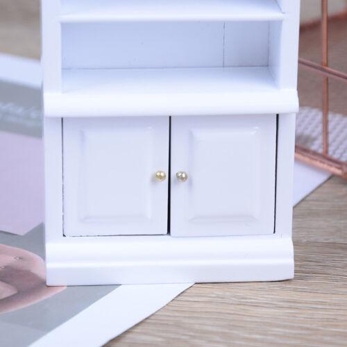 1:12 Dollhouse miniature furniture wooden living room book cabinet bookshelf ba