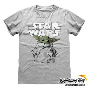Star Wars Boys The Mandalorian The Child Frame T-Shirt