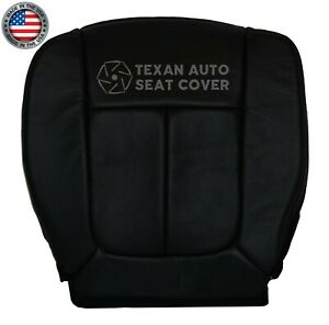 2009-2010-2011-Ford-F150-Lariat-Driver-Bottom-Synthetic-Leather-Seat-Cover-Black