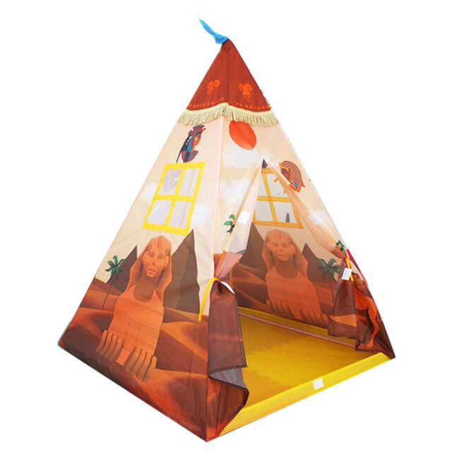 new product d26f5 12d96 Kids Indian Teepee Play Tent for Boys and Girls Playhouse Princess Castle  Toy
