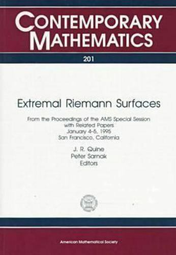 Extremal Riemann Surfaces by Quine, J. R.
