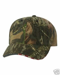 2467cfc017b Mossy Oak Country Camo American Flag Camo Hunting Hat Outdoor Cap ...