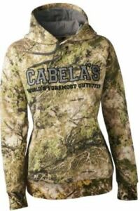 Details about NWT Women's Cabela's Zonz Western ColorPhase 4Most Adapt Camo Hoodie Sweatshirt