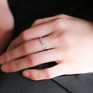 Beautiful-Simple-Open-Design-Leaf-Ring-Flower-Rings-Wedding-Rings-for-Women
