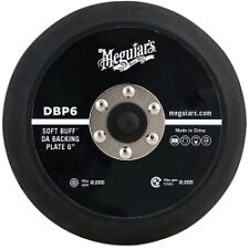 "Meguiars DBP6 Soft Buff DA Polisher Backing Plate (6"", 5/16""-24 Spindle)"