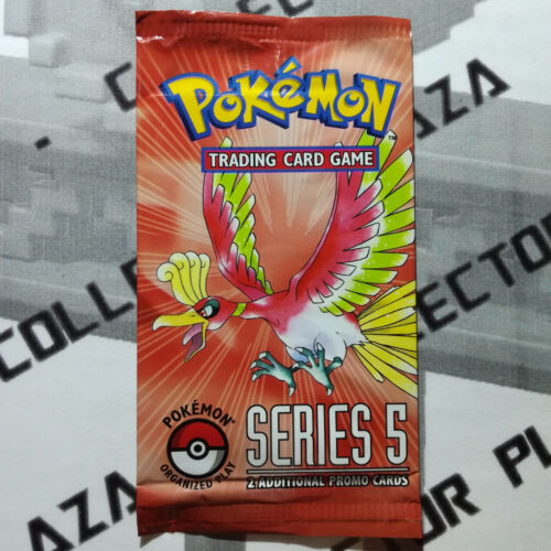 x1 POKEMON Booster Pack POP SERIES 5 in ENGLISH NEW SEALED Ho-oh Art Gold Star?
