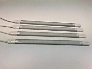 4-x-12V-LED-Strip-Light-Lamp-Bar-310mm-Long-Horseboxes-Truck-Van-Motorhome