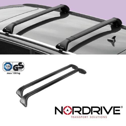 NORDRIVE SNAP Dachträger für NISSAN QASHQAI 2013+ - Für offene Reling J11