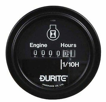 Durite Engine Hour Countert Hour Meter 52mm 10-80 volt x1 0-523-08