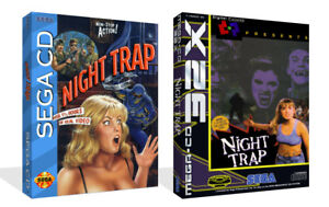 Details about Night Trap Sega CD Replacement Spare Game Case + Box Art Work  Cover No Game