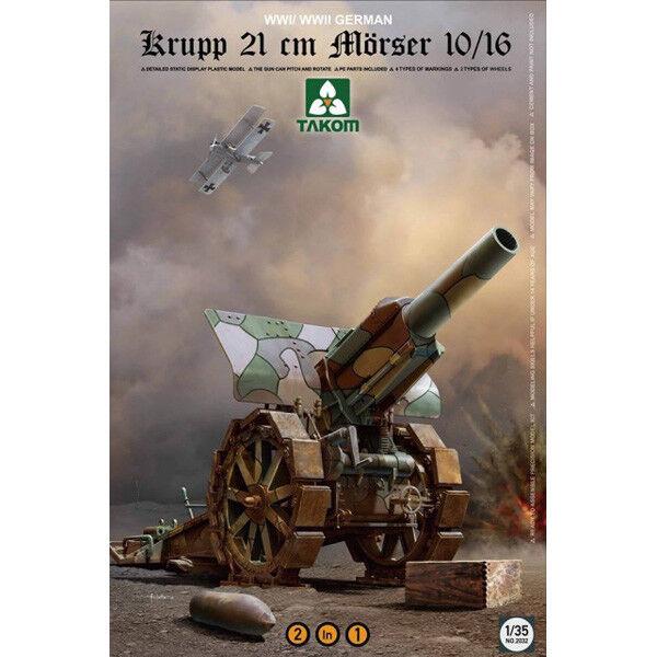 Takom  35 Krupp 21cm Morser 10 16