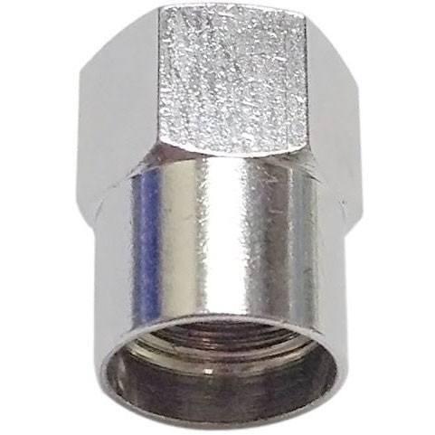 Heavy Duty in metallo a forma di esagonale VALVOLA CAPS TAPPI polvere ad alta pressione Confezione da 50