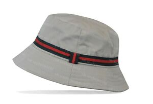 Mens Ladies Designer Colour Stripe Bucket Hat Sun Holiday Beach Wear ... a0e05f473ed