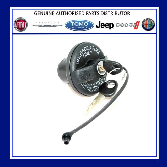New Genuine Fiat 500,Grande Punto Evo,Punto,Stilo Locking Fuel Cap 71802520