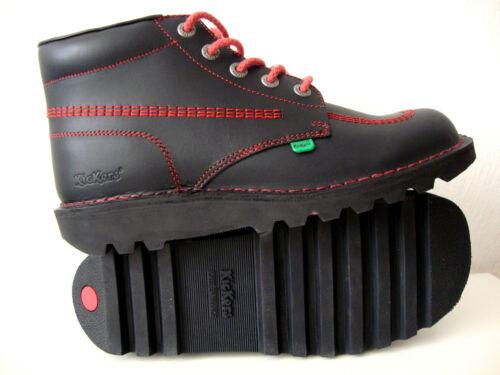 101 Kf cuero Zapatos de 45 Hombres Botas Botas clásicas Kickers Kick Hi Gr Nuevo EtxzTqwnHf