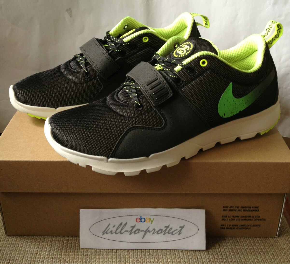 STUSSY x NIKE ACG TRAINERENDOR Green Sz US UK9 10 11 12 13 SB 3M 634928-070 2013
