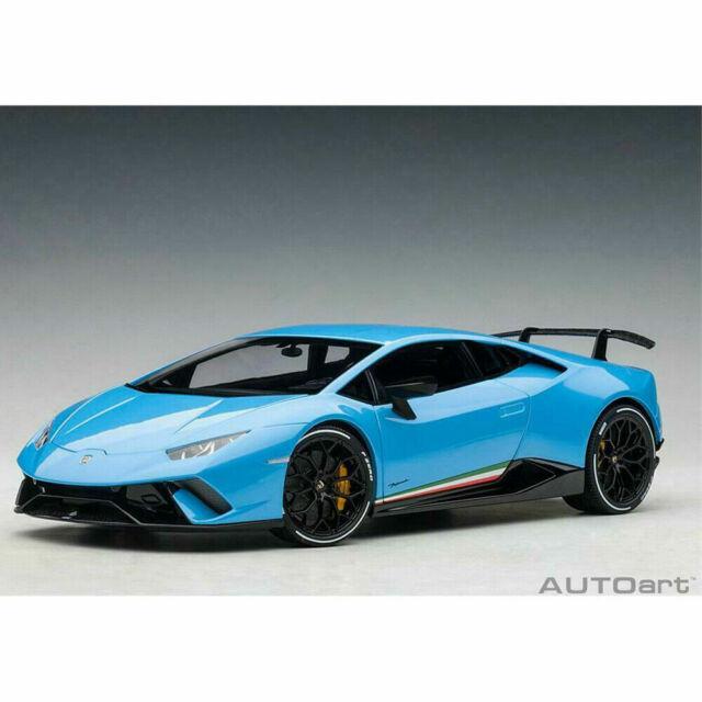 AutoArt 1/18 LAMBORGHINI Huracan Performante NEW in Box Pearl BLUE Cepheus 79153