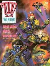 2000 AD Winter Specials No.1 1988 & No.2 1989 Fleetway * Mint Condition