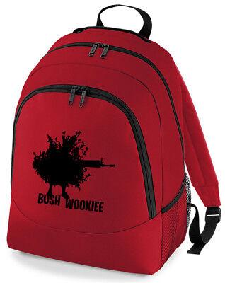 Imparato Gioco Bush Wookie Zaino Zaino Scuola Borsa-mostra Il Titolo Originale
