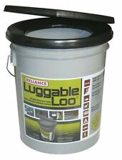 Reliance Products Luggable Loo Portable 5 Gallon Toilet, New, Free Shipping