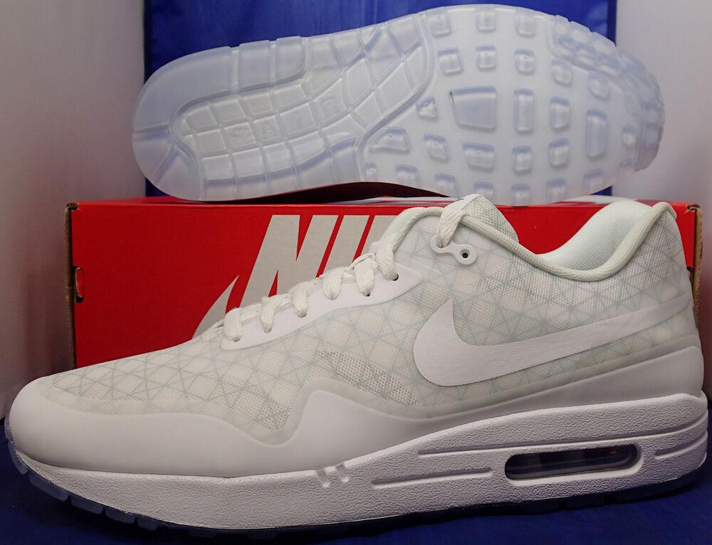 Nike Air Max 1 HTM Tinker Clear Hatfield QS iD BLANC Clear Tinker Homme  Chaussures de sport pour hommes et femmes 4aeca5