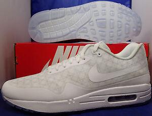 Nike Air Max 1 HTM Tinker Hatfield QS iD White Clear SZ 10.5 ...  Htm on