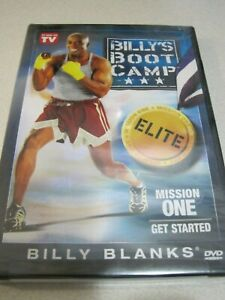 Billy-039-s-Boot-Camp-Elite-Mission-One-Get-Started-New-Factory-Sealed-DVD