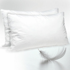 Luxury Hotel Quality Goose Feather And Down Pillow Pair