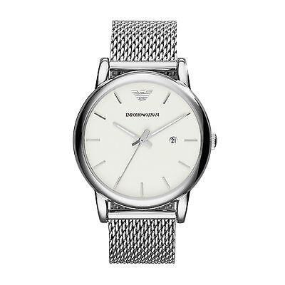 Emporio Armani AR1812 Men's Analogue Quartz Stainless Steel Watch